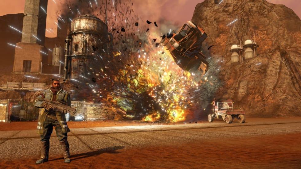 Ett nytt Red Faction har dykt upp via Nvidias Ansel-hemsida