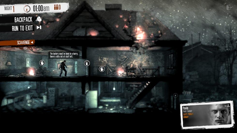 This War of Mine är gratis att spela via Steam fram till söndag