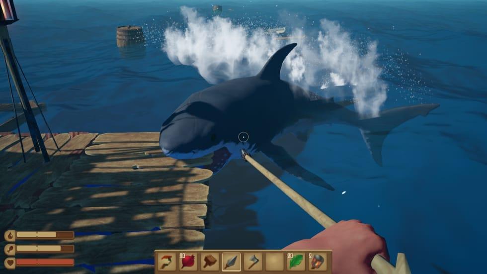 Överlevnadsspelet Raft har släppts på Steam