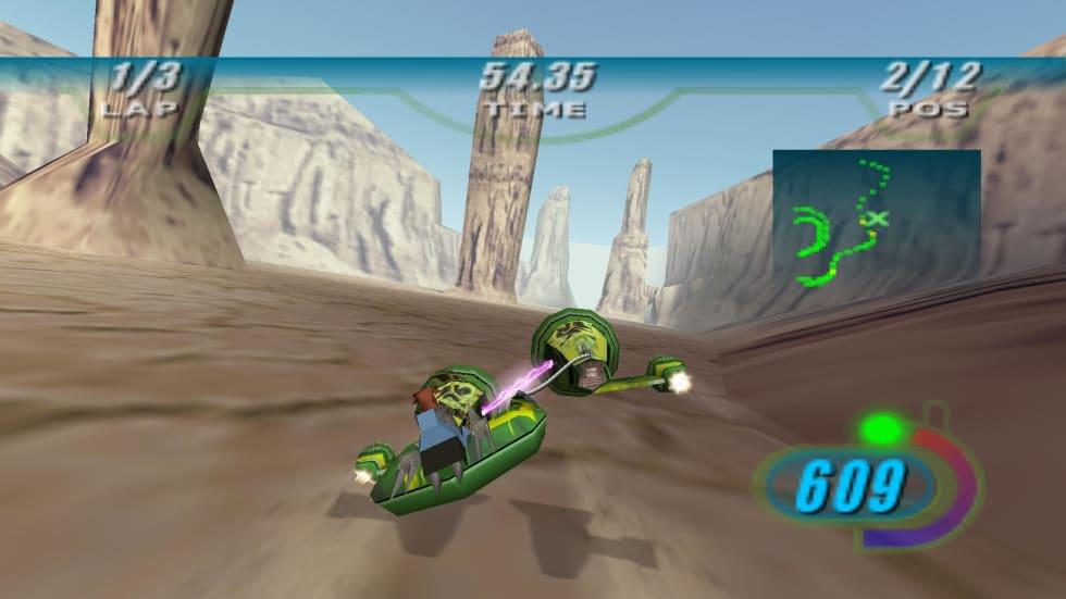 Klassiska arkadracern Star Wars: Episode I Racer har släppts på GOG!
