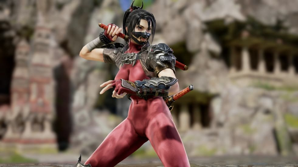 Här är Taki i Soul Calibur VI!