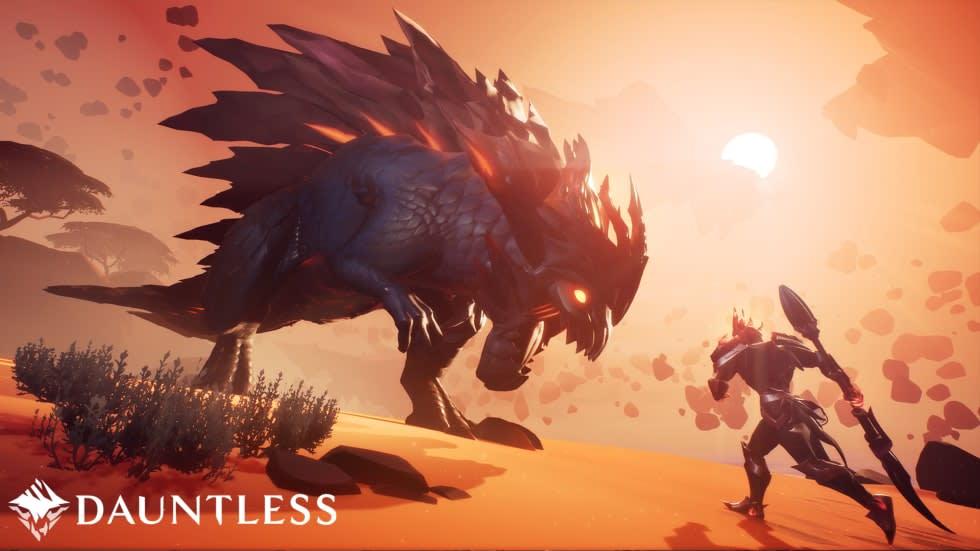 Monster Hunter-doftande Dauntless får full lansering nästa vecka