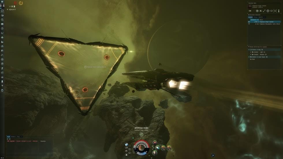 Nya Eve Online-expansionen släpps idag, här är en trailer