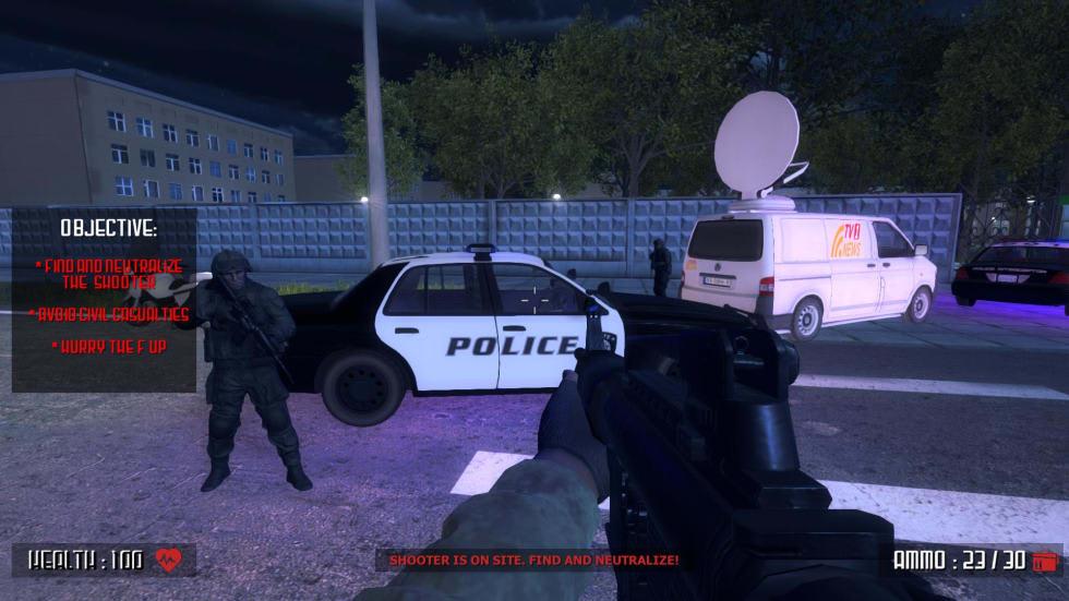 Skolskjutarspelet Active Shooter har tagits bort från Steam