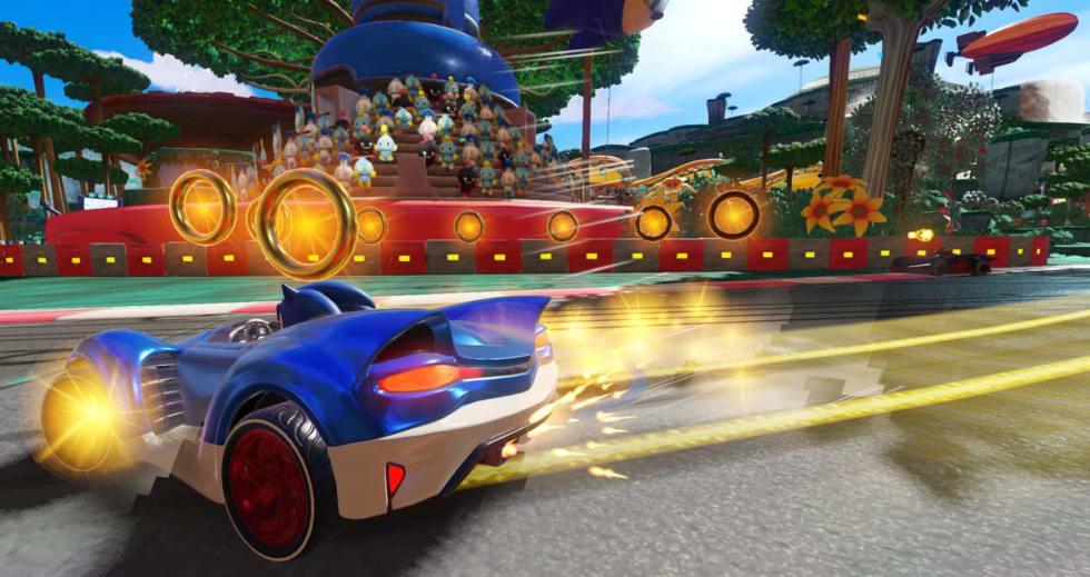 Wal-Mart läcker bilder från Team Sonic Racing