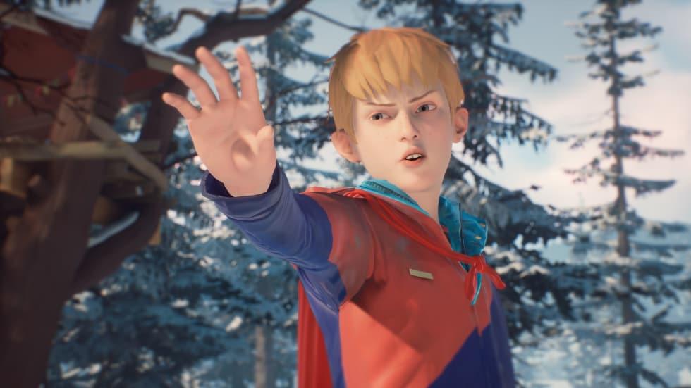 Captain Spirit gästspelar i andra episoden av Life is Strange 2!
