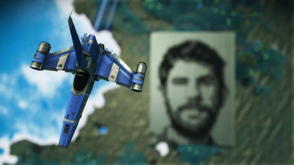 No Man's Sky-fan har byggt ett enormt Sean Murray-porträtt!