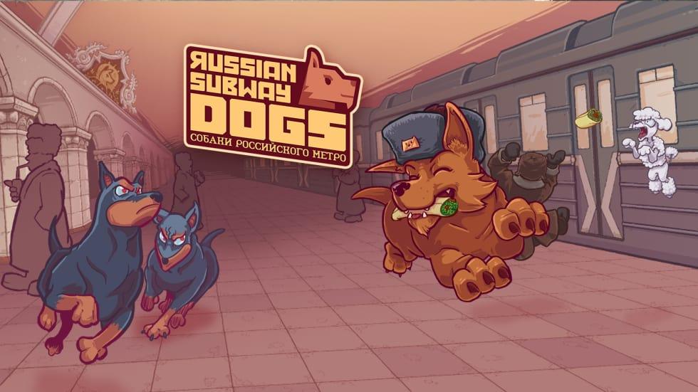 Russian Subway Dogs är ett spel fullt av good doggos