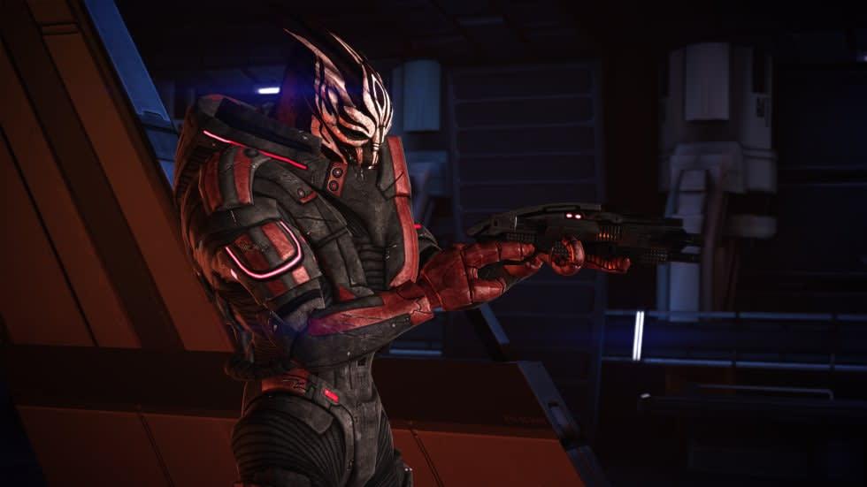 Mass Effect-trilogin har fått ansiktslyftning med nytt texturpaket