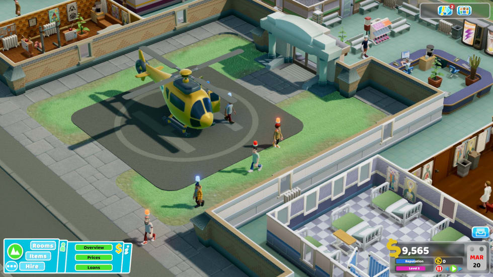 Two Point Hospital – Recension