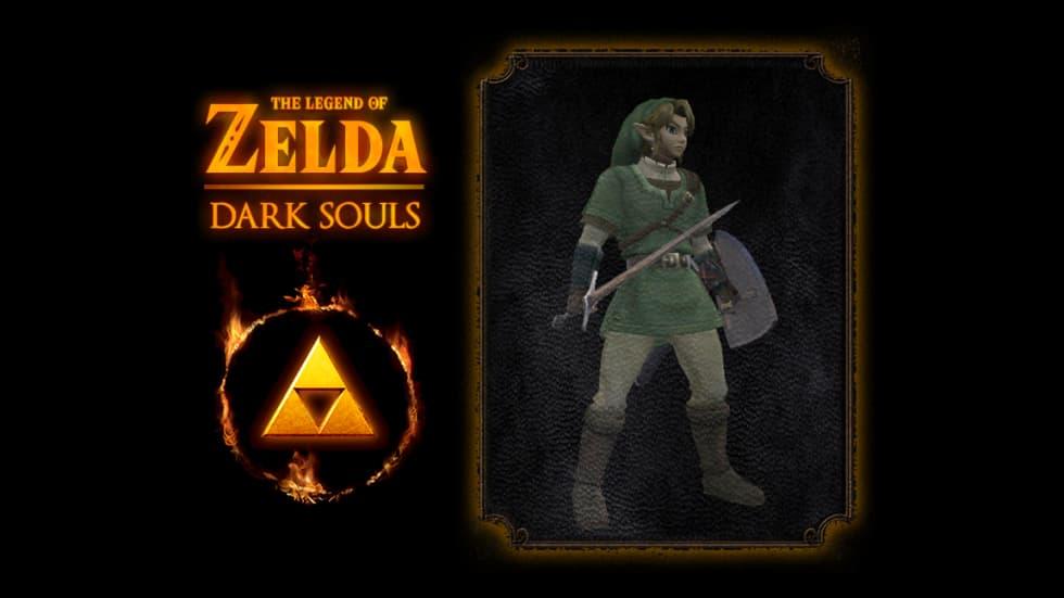 Dark Souls: Remastered-modd låter dig spela som Link från The Legend of Zelda
