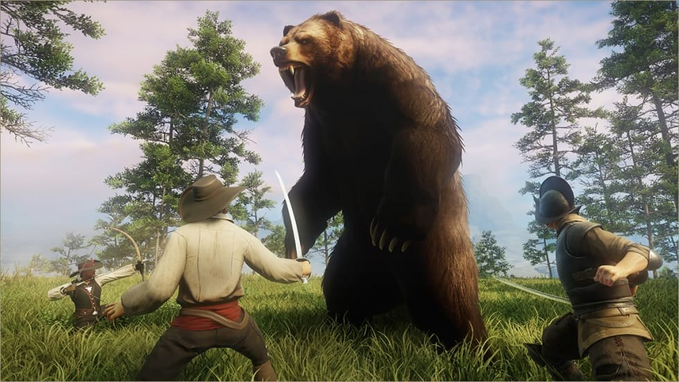 Amazons massiva onlinerollspel New World släpps i augusti