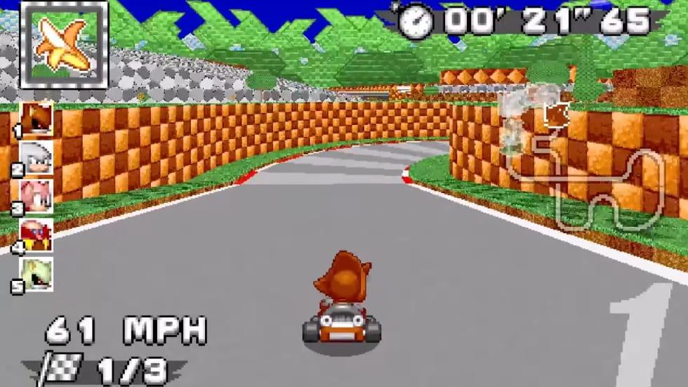 Sonic Robo Blast 2 Kart är en fanutvecklad kart-racer baserad på Doom-motorn!