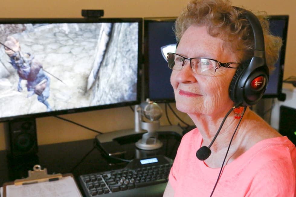 Grandma Skyrim får en egen Skyrim-modd inom kort!