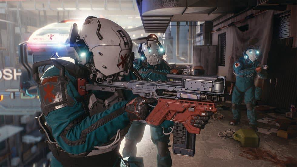 Cyberpunk 2077 visar upp fotoläge, varnar för streamande i förtid