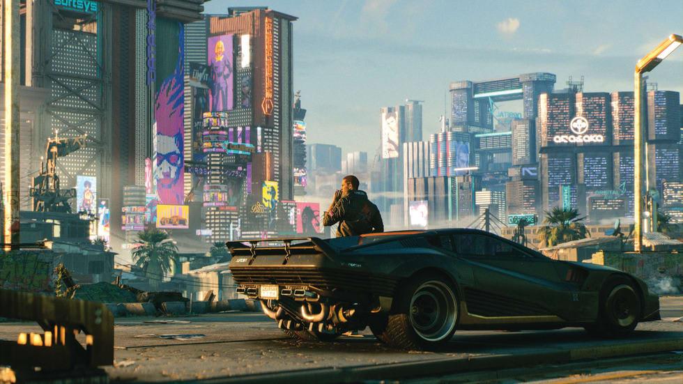 Cyberpunk 2077 visar upp 10 nya spelminuter