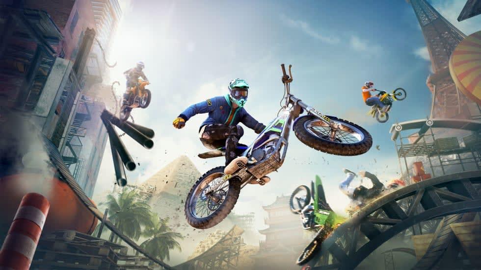 Gratisspel! Ubisoft skänker bort Trials Rising