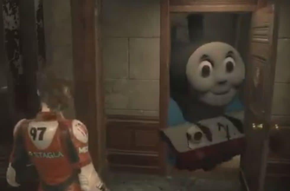 Resident Evil 2-modd byter ut Mr. X mot tåget Thomas