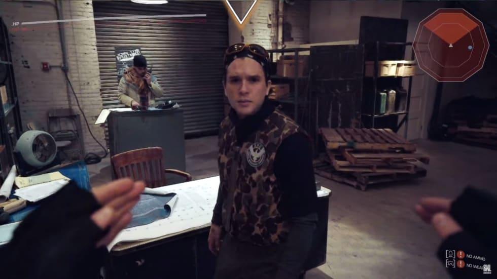 Game of Thrones-stjärnan Kit Harrington driver med The Division 2 i SNL-sketch