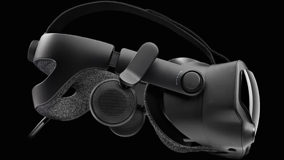 Valves VR-headset Index har presenterats, 120 Hz och 1440 x 1600 pixlar per panel!