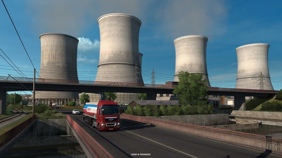 Euro Truck Simulator 2 drar till Östeuropa i kommande dlc