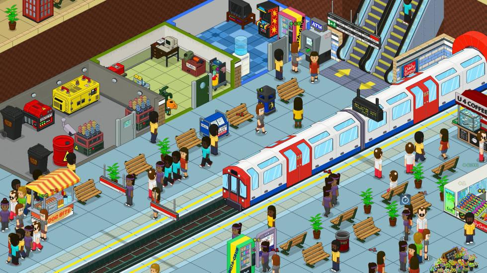 Tunnelbanebyggaren Overcrowd har lämnat early access