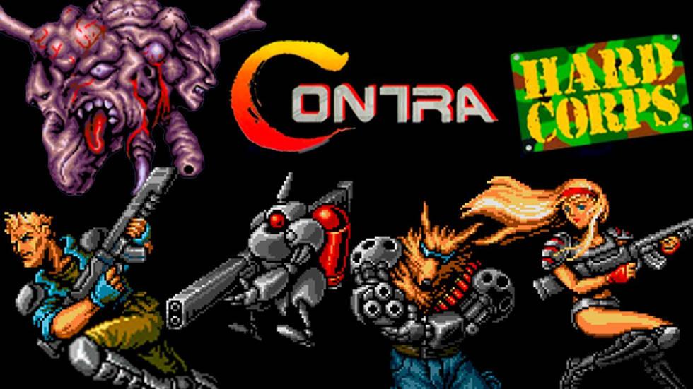Konami har avslöjat spelen som ingår i Contra: Anniversary Collection