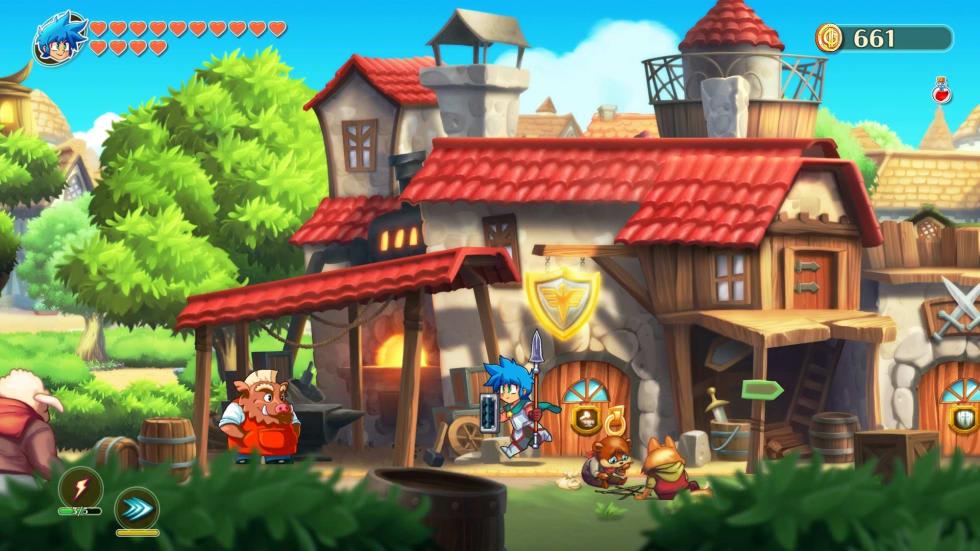 Monster Boy and the Cursed Kingdom har äntligen nått pc:n, kolla in lanseringstrailern!