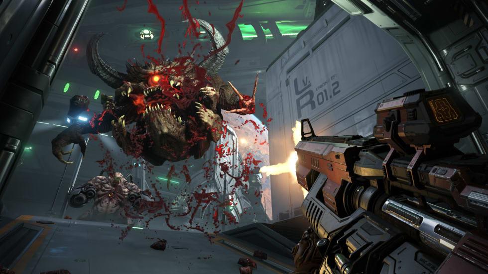 Doom Eternals lanseringstrailer avtäcker jättestor demon