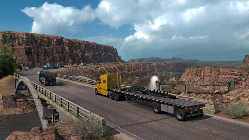 Nästa anhalt för American Truck Simulator blir Utah!