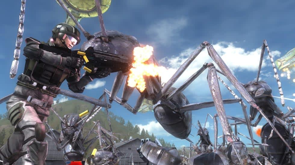 Överraskning! Earth Defense Force 5 släpps till Steam på torsdag
