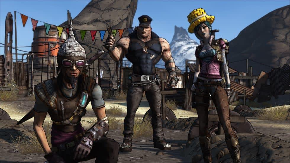 Nyutgåvan av Borderlands är gratis att prova via Steam helgen ut