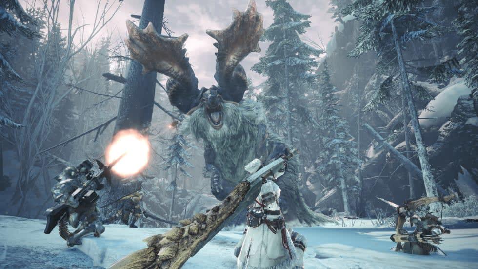 Monster Hunter World synkas med konsolversionerna i april