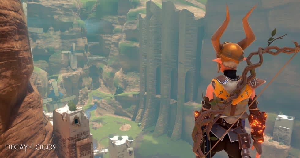 Zelda- och Dark Souls-doftande Decay of Logos släpps den 30 augusti