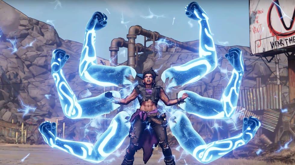 Borderlands 3 presenterar den tredje spelbara karaktären Amara