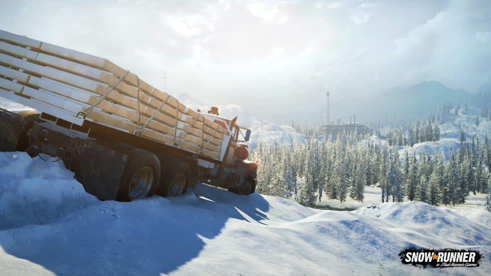 Snowrunner kommer ha moddar redan vid morgondagens lansering
