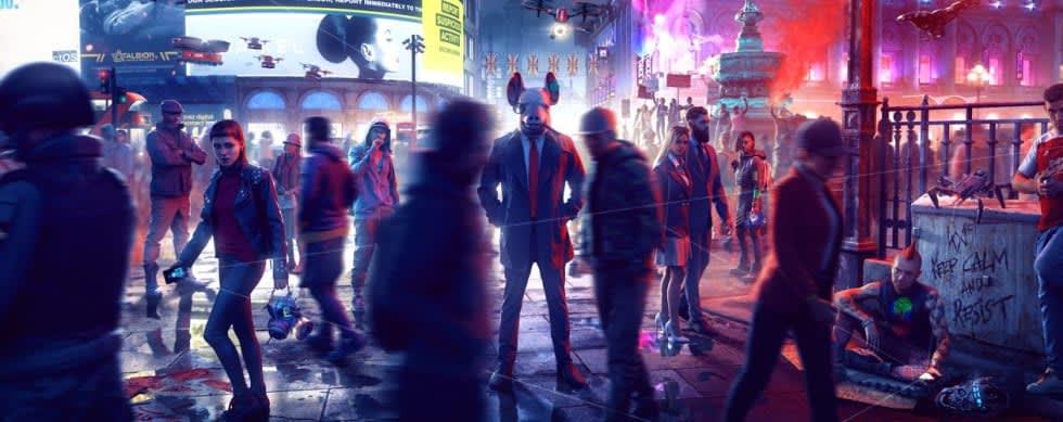 Watch Dogs: Legions onlinedel släpps den 9 mars