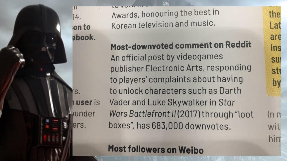 EA får Guinness-rekord för världens mest nedröstade Reddit-kommentar