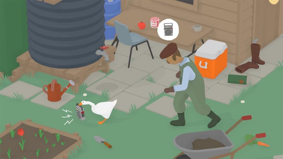 Speedrun-rekordet för Untitled Goose Game har redan pressats under fyra minuter