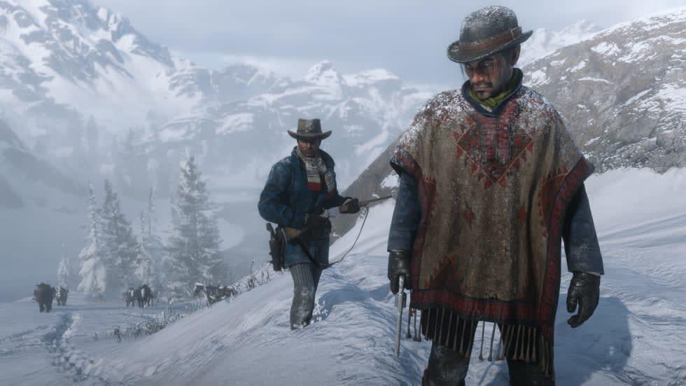 Red Dead Redemption 2-uppdatering försöker åtgärda stuttering-problem