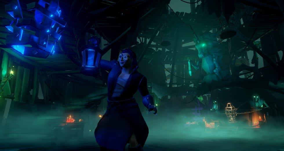 Jodå! Sea of Thieves har också fått en halloween-uppdatering