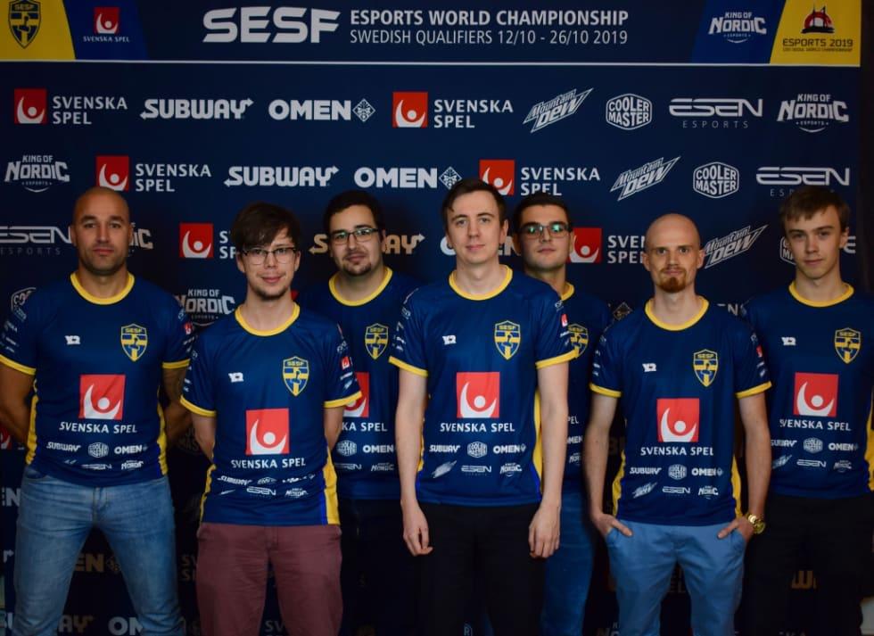 Svenska truppen för VM i e-sport har spikats