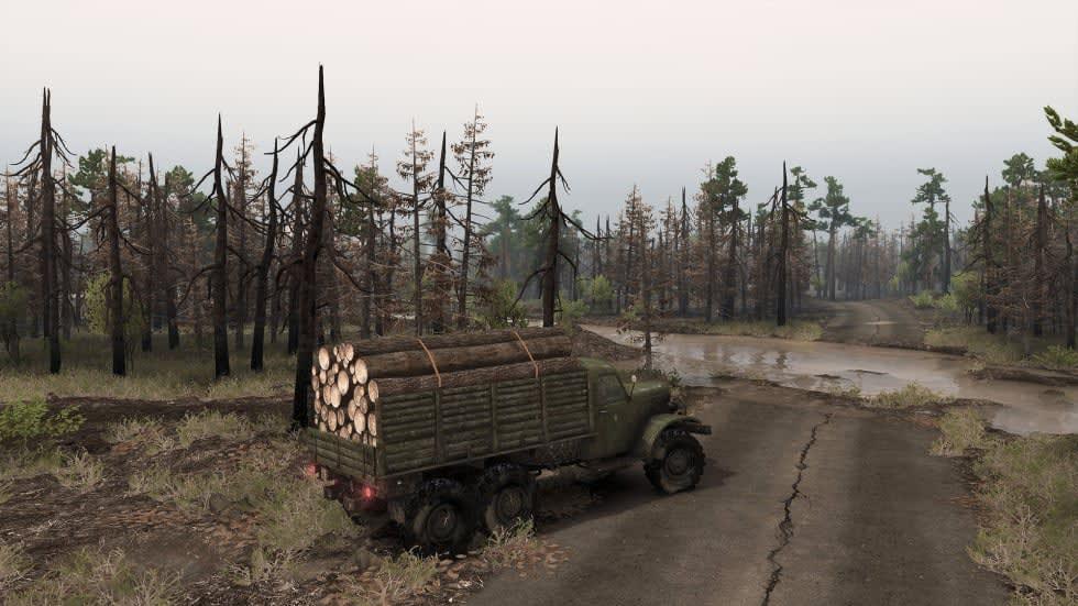 Spintires drar till Tjernobyl i nytt dlc-material