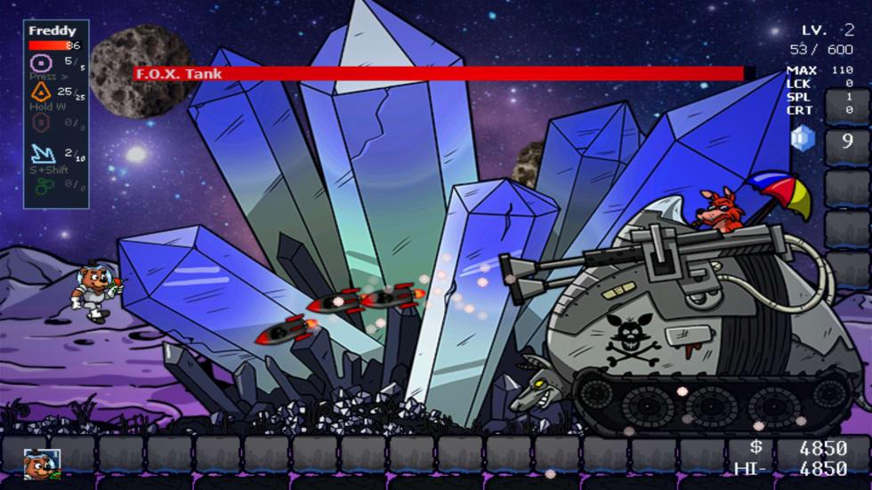 Nya Five Nights at Freddy's är ett sidoscrollande actionspel
