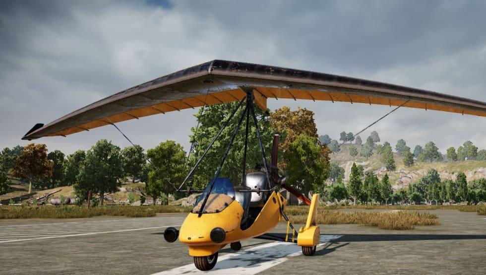 Du kan testa PUBGs första flygande farkost hela helgen