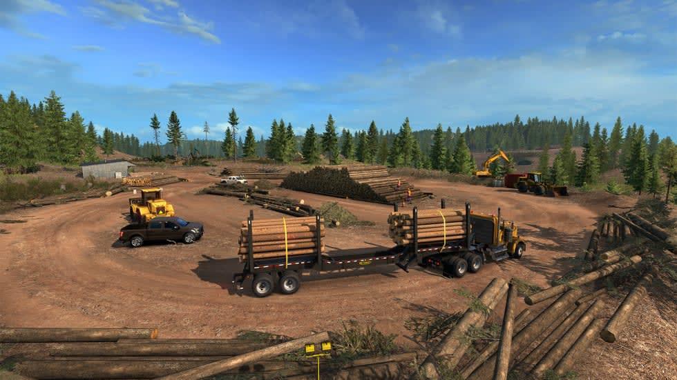 American Truck Simulator drar till Idaho i nästa dlc