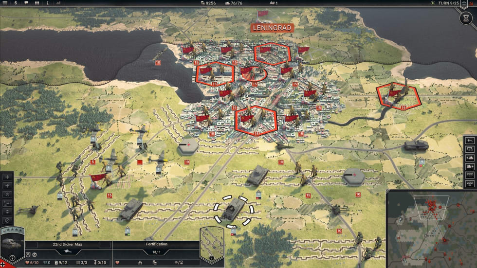 Panzer Corps 2 släpps i mars, kolla in nya trailern