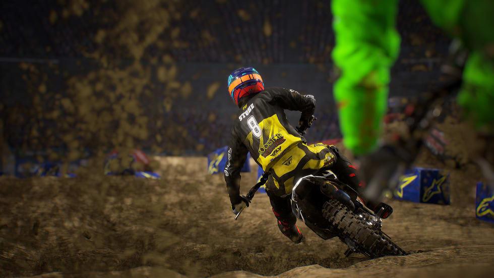 Monster Energy Supercross 3 har släppts till Stadia, men det kostar mer än på Steam