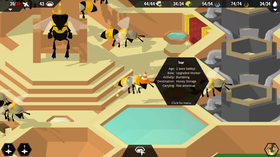 Management-spel med bismak – kolla in nya trailern för Hive Time!