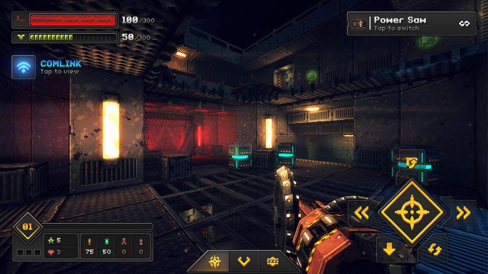 System Shock möter Quake i nya retro-fps:et Core Decay